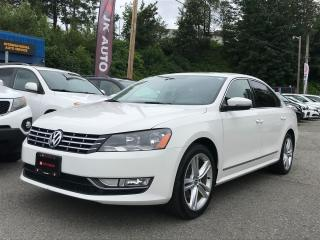 Used 2014 Volkswagen Passat HIGHLINE for sale in Coquitlam, BC