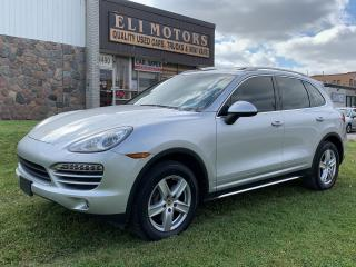 Used 2014 Porsche Cayenne PREMIUM PKG. NAVIGATION. AWD. REAR VIEW CAMERA. BLUETOOTH. ALLOYS. for sale in North York, ON