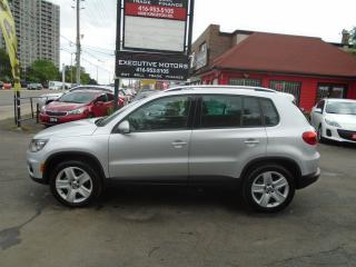 Used 2012 Volkswagen Tiguan Highline/ LOADED/ NEW BRAKES / CERTIFIED / LEATHER for sale in Scarborough, ON