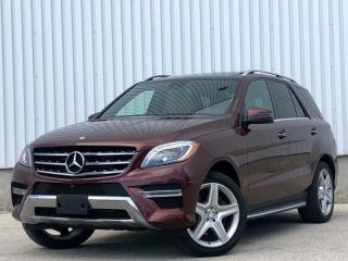 Used 2014 Mercedes-Benz M-Class ML 350 BlueTEC for sale in Mississauga, ON