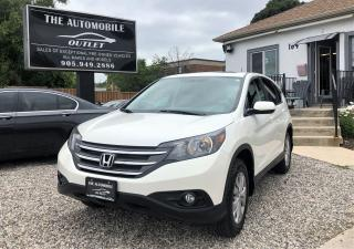Used 2014 Honda CR-V EX AWD ONE OWNER BACK-UP CAM SUNROOF NO ACCIDENT for sale in Mississauga, ON
