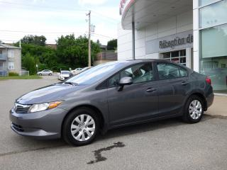 Used 2012 Honda Civic LX - Automatique - Air climatisé for sale in Trois-Rivières, QC