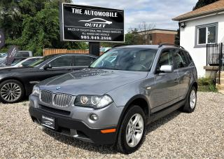 Used 2008 BMW X3 3.0I AWD navi ,back cam PANO ROOF NO ACCIDENT for sale in Mississauga, ON