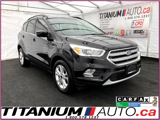 2017 Ford Escape SE+GPS+Camera+Pano Roof+Leather Seats+2.0 EcoBoost