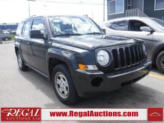 Used 2010 Jeep Patriot Sport 4D Utility 2WD for sale in Calgary, AB