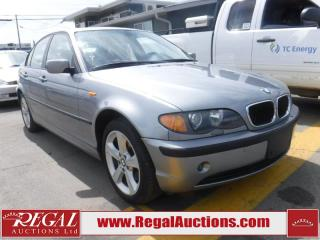 Used 2005 BMW 3 SERIES 325XI 4D SEDAN AWD for sale in Calgary, AB