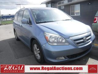 Used 2006 Honda Odyssey Touring Wagon 4D for sale in Calgary, AB