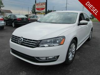Used 2014 Volkswagen Passat 2.0L TDI SE AT for sale in Alvinston, ON