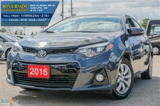 Used 2016 Toyota Corolla S for sale in Guelph, ON