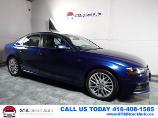 Used 2015 Audi A4 Komfort Plus S-Line Sport 6Speed Quattro Certified for sale in Toronto, ON