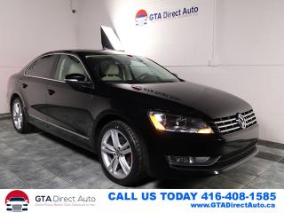 Used 2013 Volkswagen Passat HIGHLINE Nav Sunroof Camera Fender-Sound Certified for sale in Toronto, ON