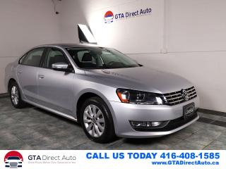 Used 2013 Volkswagen Passat Trendline TDI Alloys Bluetooth Auto DSG Certified for sale in Toronto, ON