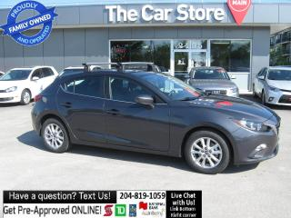 Used 2015 Mazda MAZDA3 Sport MANUAL htd seat BACKCAM pushstart BLUETOOTH for sale in Winnipeg, MB