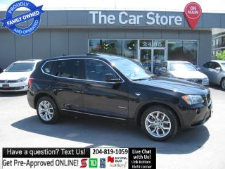 Used 2013 BMW X3 X3 28i - TECH, NAVIGATION LETHR sunroof PSH START for sale in Winnipeg, MB