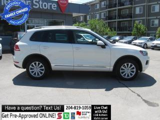 Used 2011 Volkswagen Touareg Comfortline DIESEL! NAVIGATION htd seat POWER LIFT for sale in Winnipeg, MB