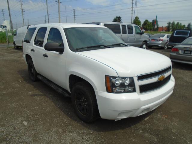 2012 Chevrolet Tahoe Police Vehicle