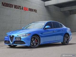 Used 2018 Alfa Romeo Giulia Ti-Q4 Performance*NEW Tires*Roof*Adaptive*Race for sale in Mississauga, ON