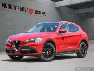 Used 2018 Alfa Romeo Stelvio TI-Q4 Nero Ed*Dynamic Plus*Harman Kardon*GPS for sale in Mississauga, ON