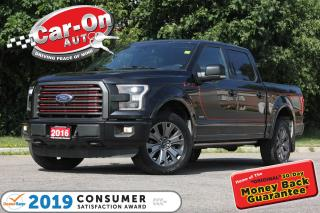 Used 2016 Ford F-150 Lariat Sport Pkg FX4 LEATHER NAV PANO ROOF TOW PKG for sale in Ottawa, ON