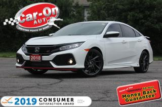 Used 2018 Honda Civic Si TURBO HFP NAV SUNROOF REAR CAM APPLE CARPLAY for sale in Ottawa, ON
