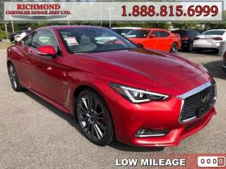 Used 2017 Infiniti Q60 3.0T for sale in Richmond, BC