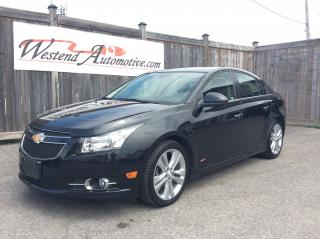 Used 2013 Chevrolet Cruze LTZ Turbo for sale in Stittsville, ON