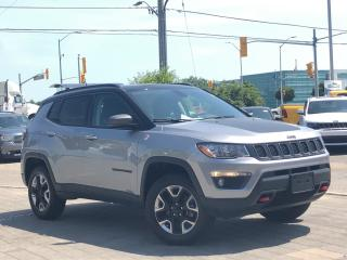 Used 2018 Jeep Compass Trailhawk**4X4**NAV**Leather**Panoroof for sale in Mississauga, ON