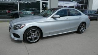 Used 2016 Mercedes-Benz C-Class C300 4-MATIC.AMG PKG.NAVI.PANO ROOF. for sale in Etobicoke, ON