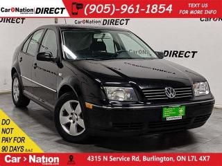 Used 2007 Volkswagen City Jetta | AS-TRADED| SUNROOF| ALLOYS| for sale in Burlington, ON