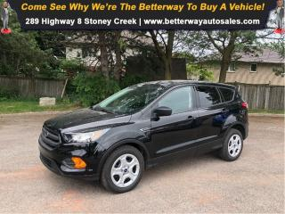 Used 2018 Ford Escape S| VERY LOW KMS!| Bluetooth| Backup Cam for sale in Stoney Creek, ON