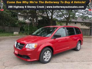 Used 2013 Dodge Grand Caravan SE| 3rd Row| Stow N Go| PWR Options for sale in Stoney Creek, ON