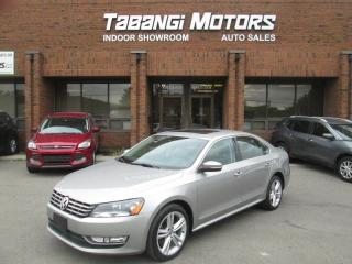 Used 2013 Volkswagen Passat TDI - NO ACCIDENTS - LEATHER - SUNROOF - HEATED SEATS - BT for sale in Mississauga, ON