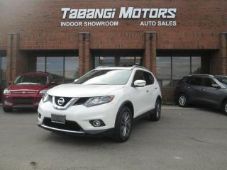 Used 2016 Nissan Rogue SL PREMIUM - AWD - NO ACCIDENTS - NAVIGATION - 360 CAM - BT for sale in Mississauga, ON