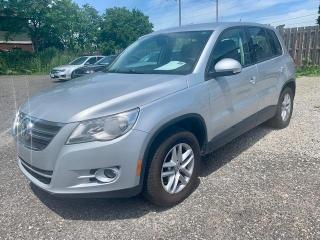 Used 2010 Volkswagen Tiguan Automatic, front wheel drive, low km's for sale in Halton Hills, ON