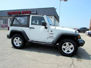 Used 2010 Jeep Wrangler Sport 6 Speed Manual Certified and 2010 Jeep Wrangler Sport 6 Speed Manual Certified and warranty for sale in Milton, ON