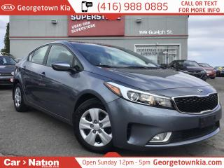 Used 2017 Kia Forte LX | CLEAN CARFAX | AUTO | HTD SEATS | BU CAM for sale in Georgetown, ON