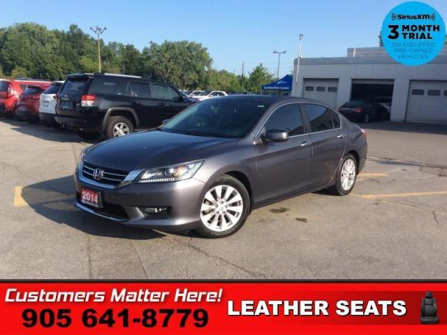 "2014 Honda Accord Sedan EX-L  LEATH ROOF CAM HS P/SEAT 17""AL"
