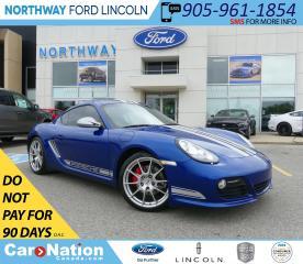 Used 2012 Porsche Cayman R | SPORT CHRONO | SPORT BUCKETS | SPORT EXHAUST | for sale in Brantford, ON