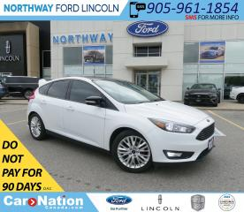 Used 2017 Ford Focus SEL | NAV | HTD SEATS+WHEEL | SUNROOF | for sale in Brantford, ON