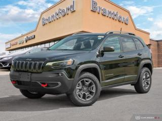 New 2019 Jeep Cherokee Trailhawk  - Heated Seats - $241 B/W for sale in Brantford, ON