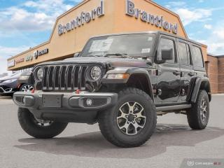 New 2019 Jeep Wrangler Unlimited Rubicon  - Navigation - $354 B/W for sale in Brantford, ON