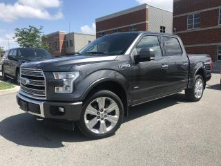 Used 2017 Ford F-150 LIMITED ECOBOOST CREW CAB for sale in Laval, QC