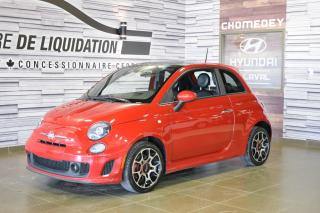 Used 2014 Fiat 500 SPORT TURBO+CUIR+TOIT for sale in Laval, QC