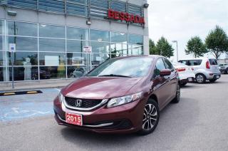 Used 2015 Honda Civic Sedan EX CVT for sale in Pickering, ON