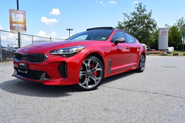 2018 Kia Stinger GT Limited TURBO. NAV. LEATHER. ROOF. FULL LOAD
