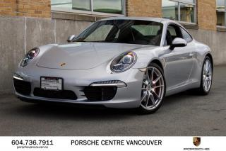 Used 2014 Porsche 911 Carrera S Coupe (991) w/ PDK | PORSCHE CERTIFIED for sale in Vancouver, BC