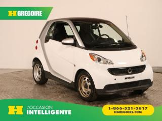 Used 2013 Smart fortwo PURE A/C CUIR for sale in St-Léonard, QC