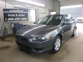 Used 2009 Mitsubishi Lancer SE for sale in St-Raymond, QC