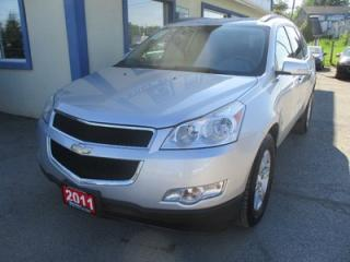Used 2011 Chevrolet Traverse ALL-WHEEL DRIVE LT MODEL 8 PASSENGER 3.6L - V6.. BENCH & THIRD ROW.. CD/AUX INPUT.. REAR CLIMATE CONTROLS.. for sale in Bradford, ON