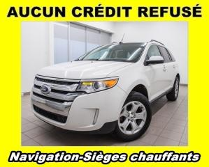 Used 2013 Ford Edge SEL AWD SIÈGES CHAUFFANTS *NAVIGATION* for sale in Mirabel, QC